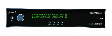 Спутниковый HDTV ресивер  World Vision Force1 и World Vision Force1 plus