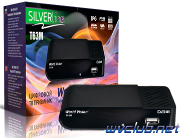 Цифровая телеприставка World Vision T63M