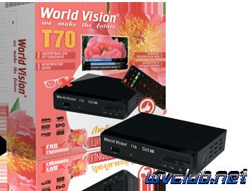 Обзор телеприставки World Vision T70