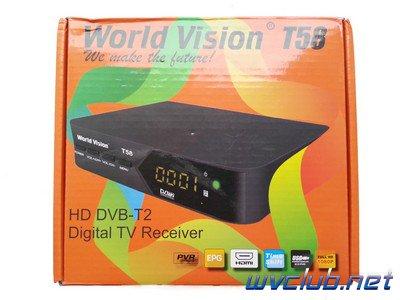Обзор цифровой эфирной приставки World Vision T58